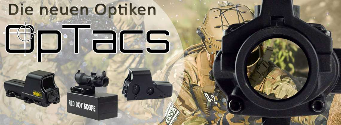 OpTacs Optiken GunPoint RedDots Pointsights