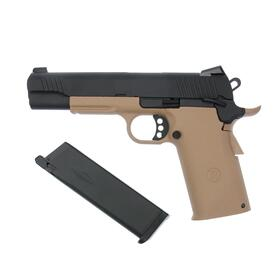 Softair - Pistole - KJW - KP-11 Full Metal GBB TAN - ab 18, über 0,5 Joule