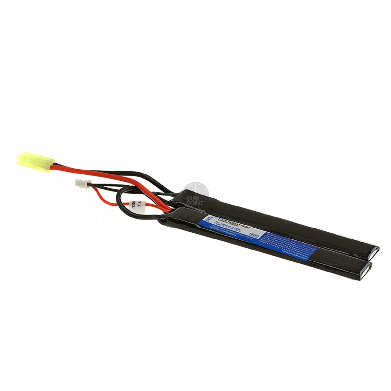 Pirate Arms - Lipo 7,4 V 1300 mAh 20C Twin Type