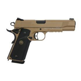 Softair - Pistole - KJ Works - M1911 MEU Full Metal GBB - ab 18, über 0,5 Joule