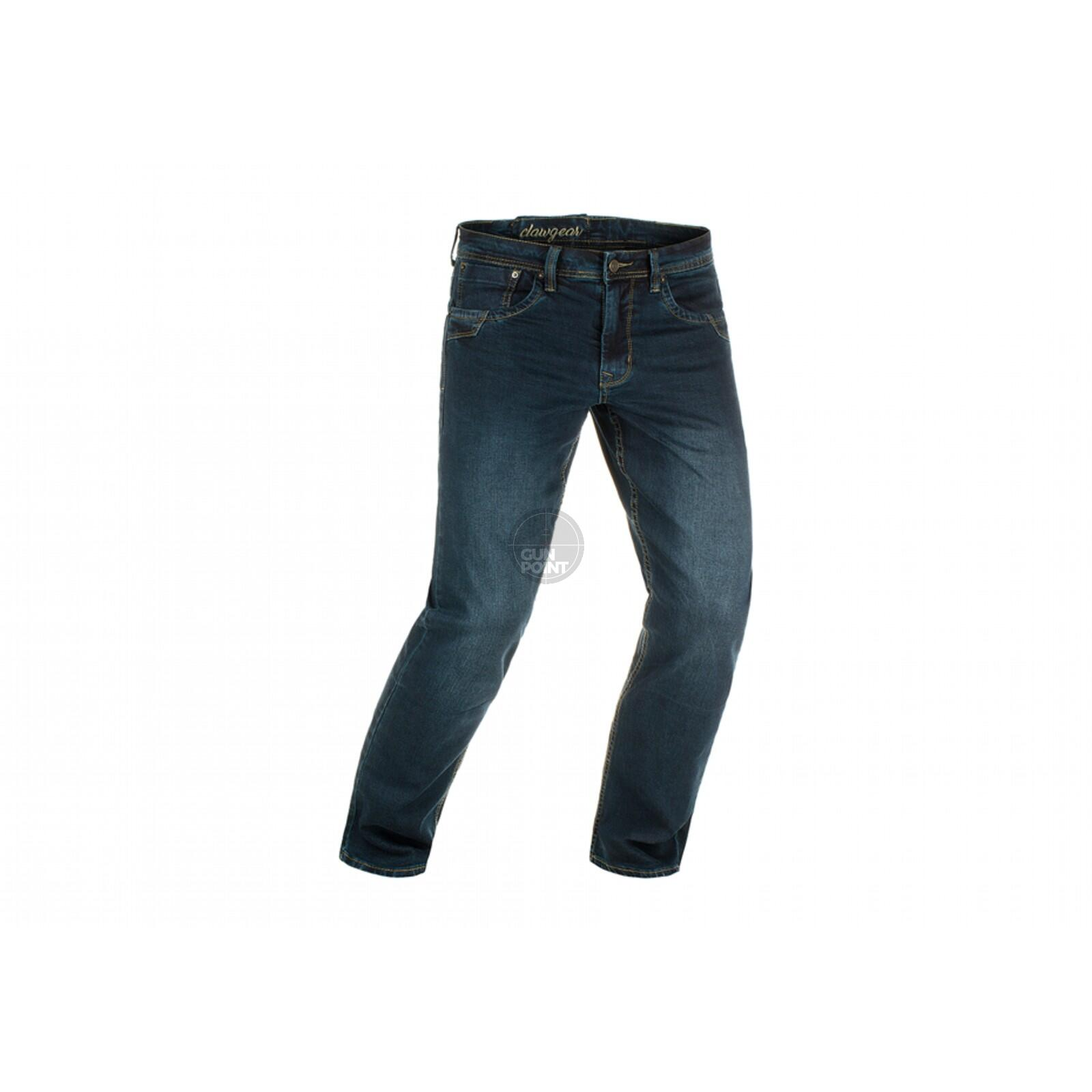 Clawgear Blue Denim Tactical Flex Jeans 34/34 Midnight Washed