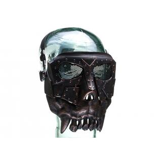 Invader Gear Squared Desert Corps Mask Metallic