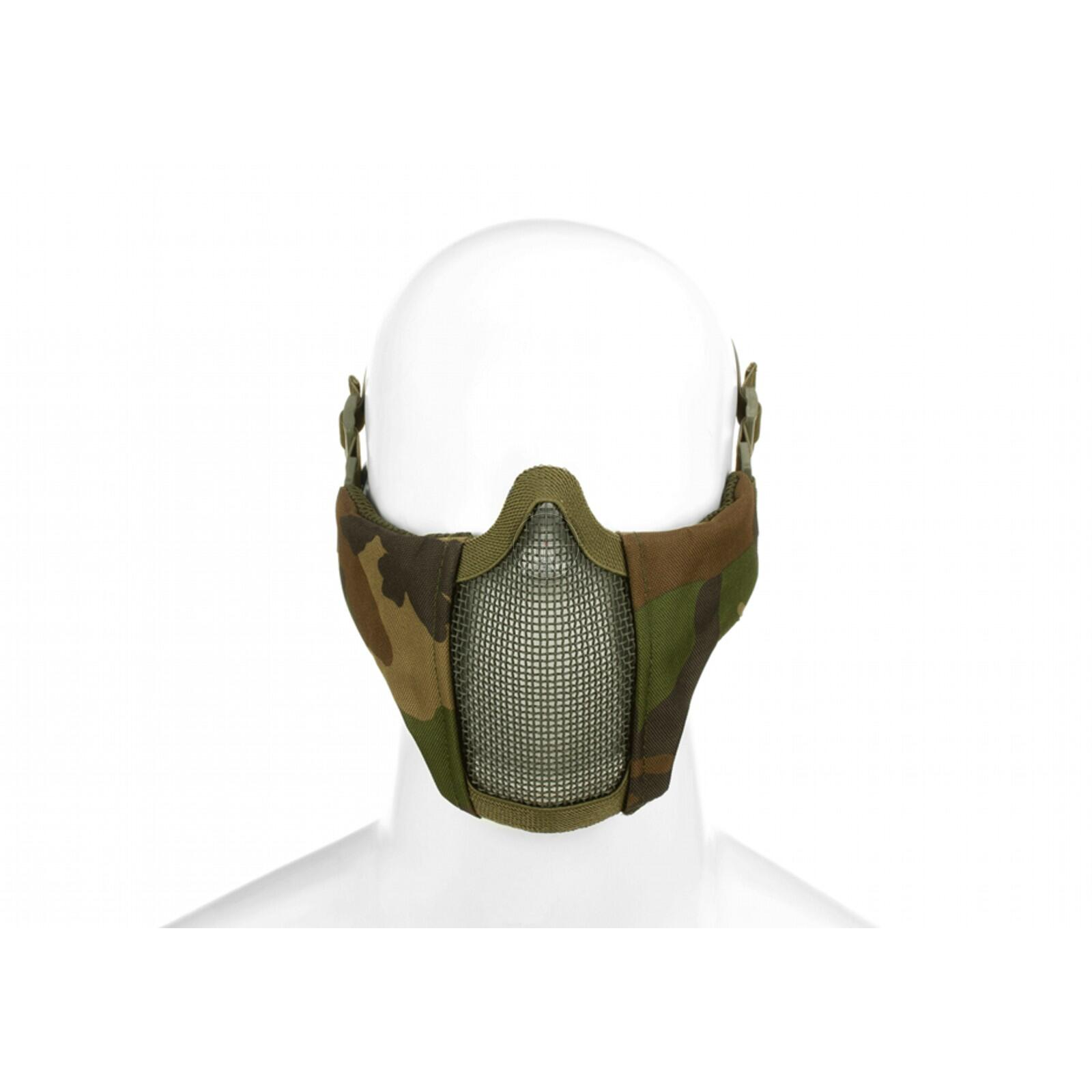 Invader Gear Mk.II Steel Half Face Mask Woodland