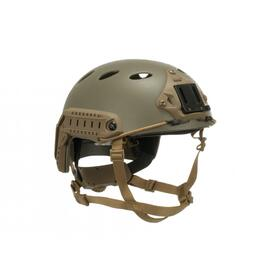 FMA FAST Helmet PJ Carbon Fiber Version M/L Tan