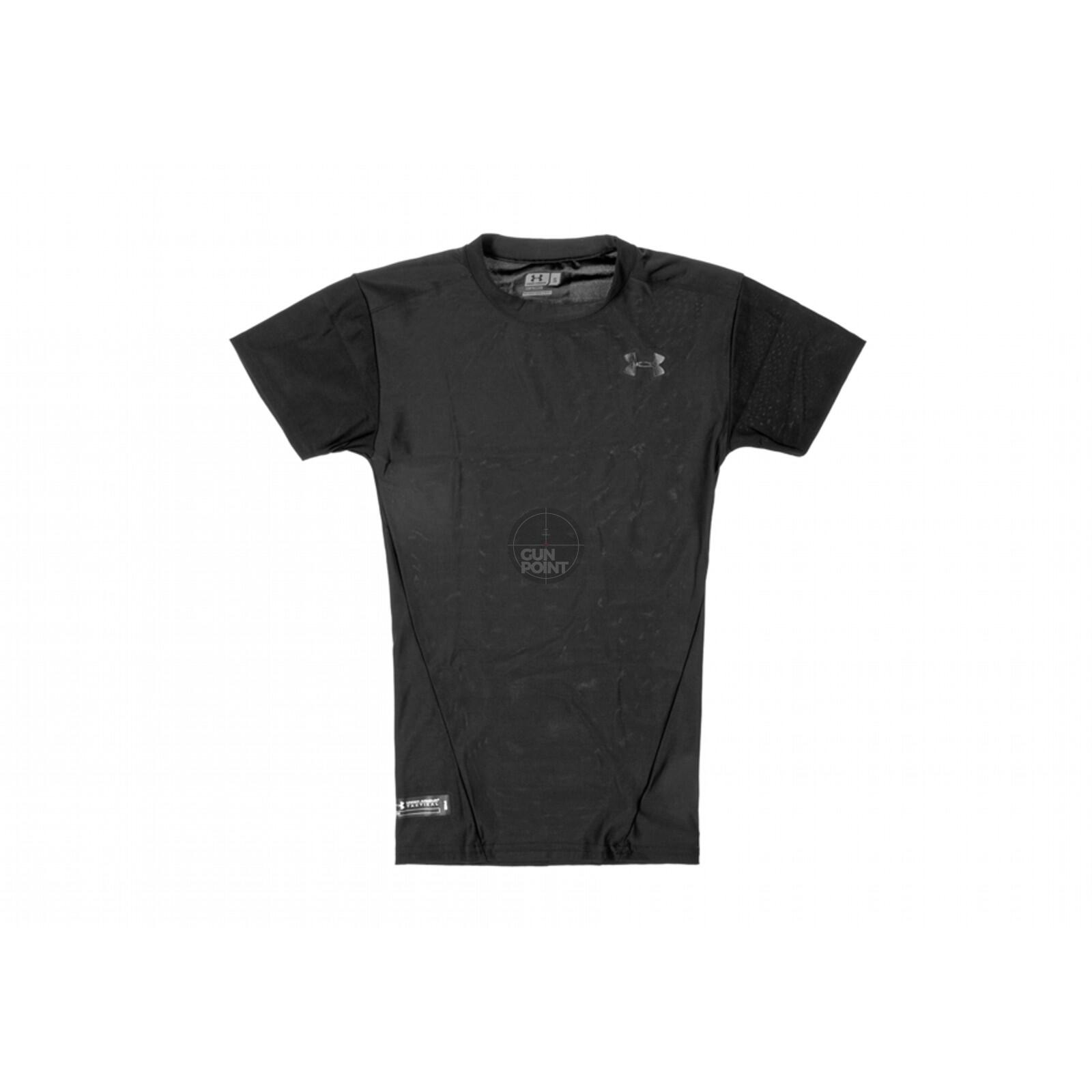 Under Armour UA Tactical HeatGear Compression Tee M Schwarz