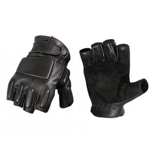 Phalanx Leather Gloves Half Finger