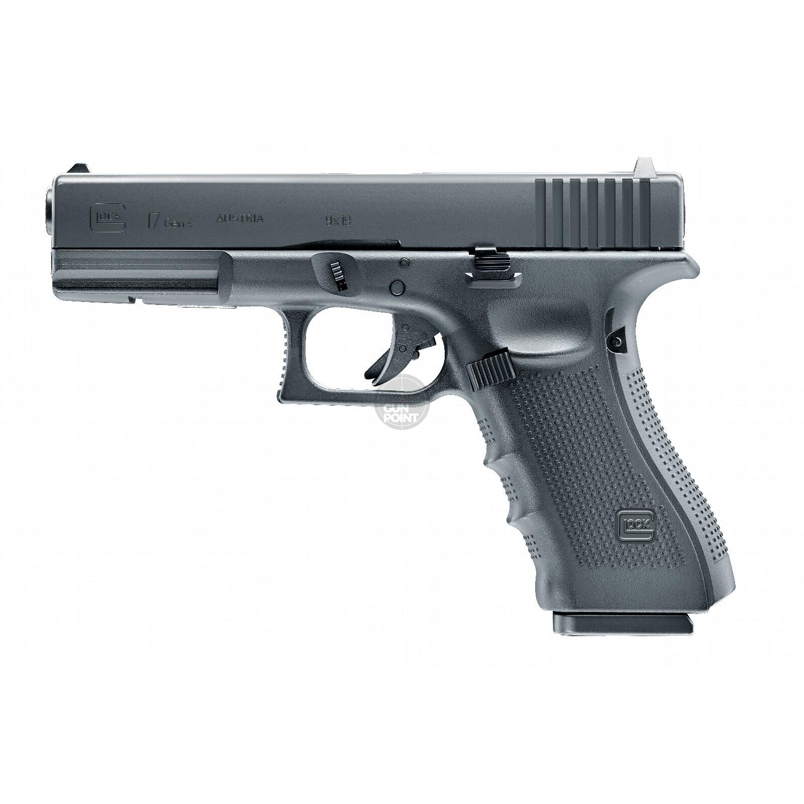 Luftpistole - Glock 17 Gen4 - Co2-System - Kal. 4,5 mm BB