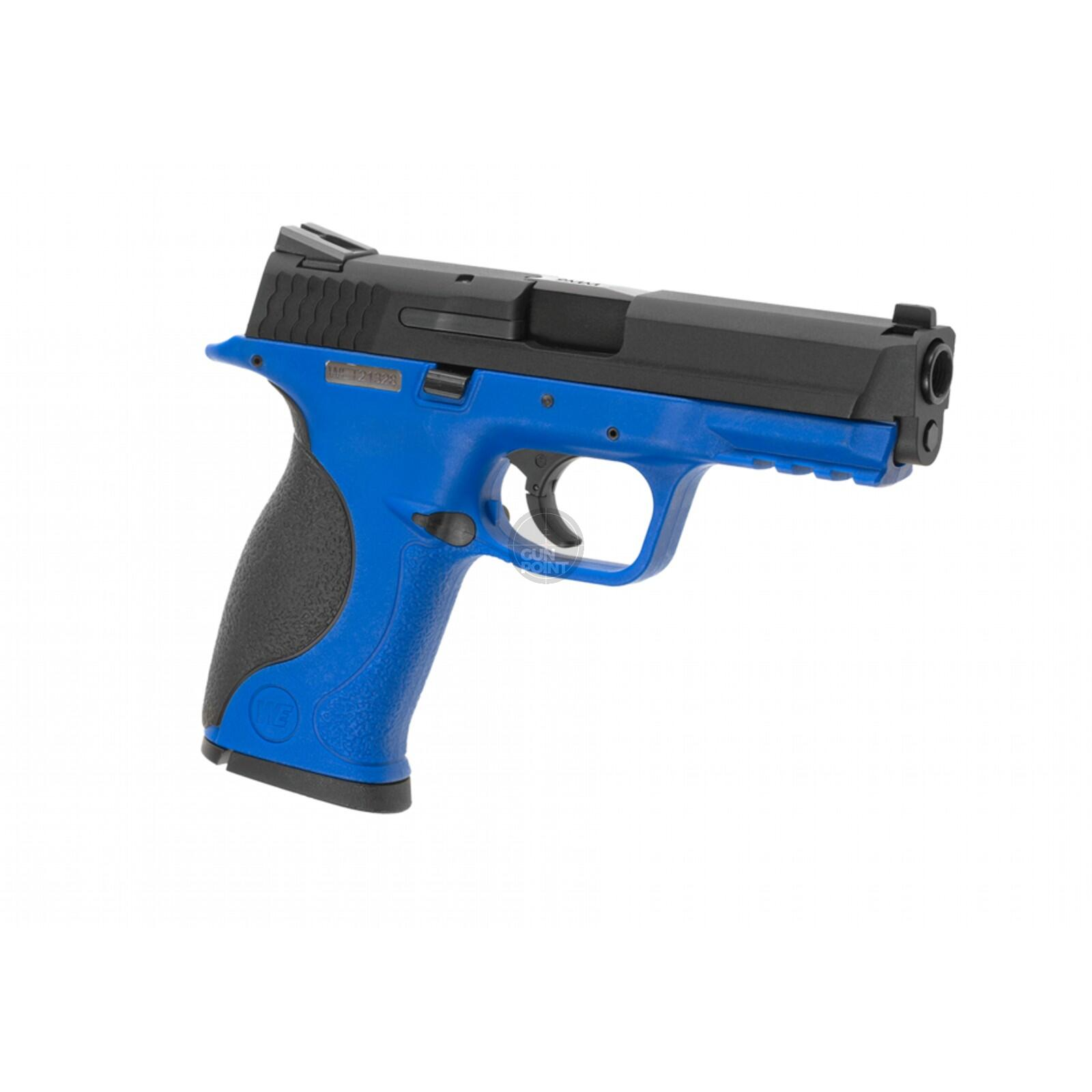 Softair - Pistole - WE - M&P Metal Version GBB blue - ab 18, über 0,5 Joule