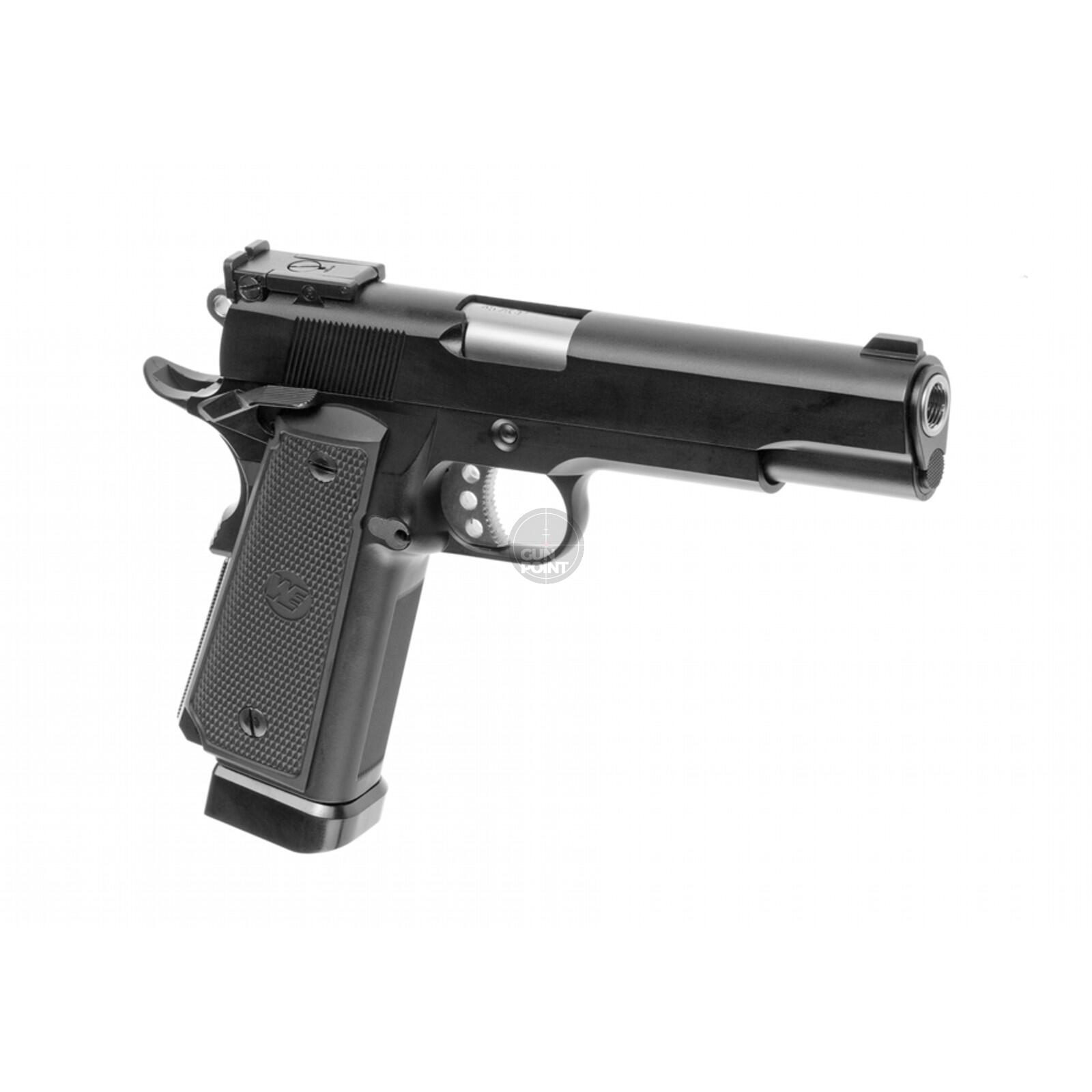 Softair - Pistole - WE - M1911 A1 Tactical Full Metal Co2 GBB - ab 18, über 0,5 Joule