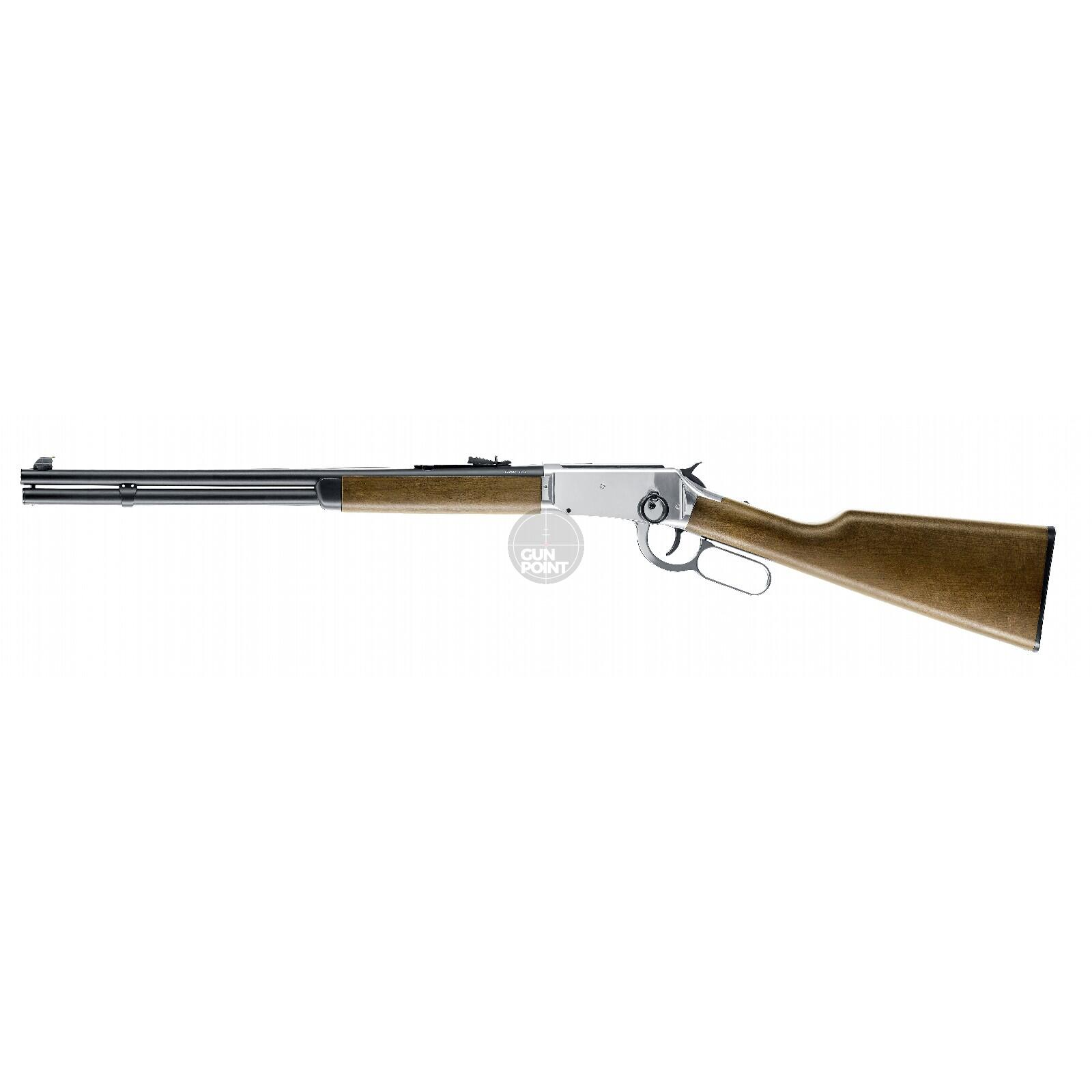 Luftgewehr - Legends - Cowboy Rifle - Co2-System - Kal. 4,5 mm BB - Chrome