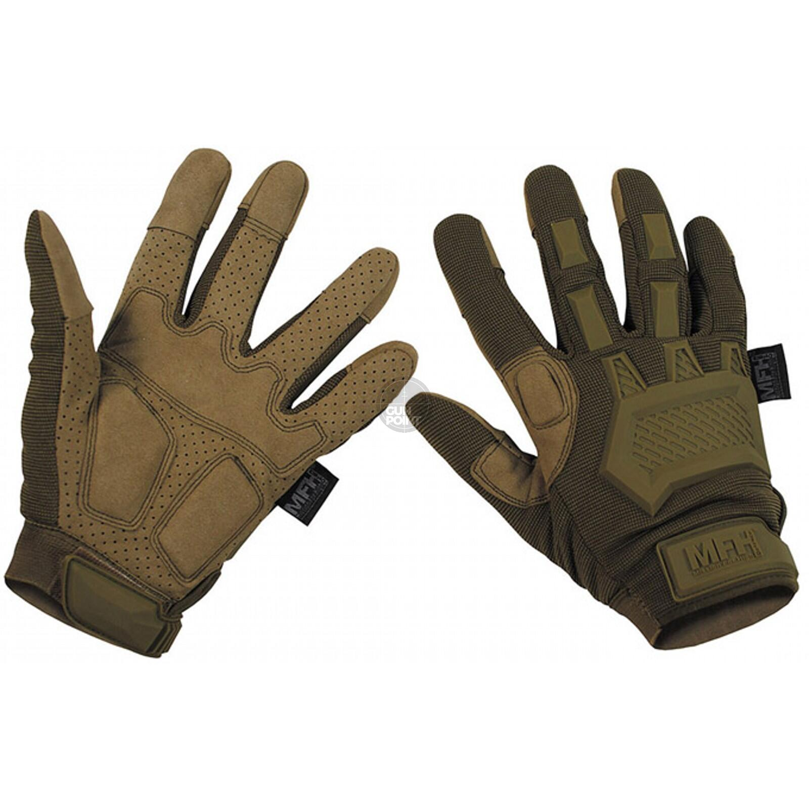 Tactical Handschuhe, Action,coyote tan - Größe: M