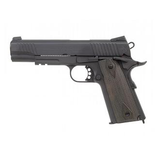 Softair - Pistole - Colt 1911 Rail Gun blackmatt CO2 BB - ab 18 Jahre über 0,5 Joule