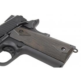 Softair - Pistole - KWC - Colt 1911 Rail Gun blackmatt CO2 GBB - ab 18, über 0,5 Joule