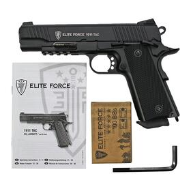 Softair - Pistole - ELITE FORCE 1911 TAC CO2 GBB - ab 18...