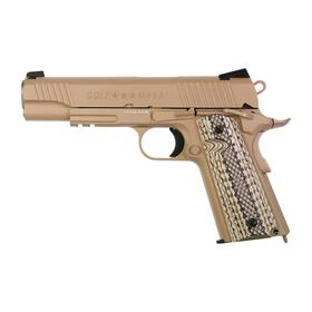 Softair - Pistole - KWC - Colt 1911 Railgun M45A1 Tan CO2...