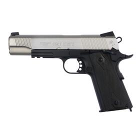 Softair - Pistole - Colt 1911 Railgun Bicolor CO2 GBB -...