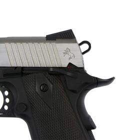 Softair - Pistole - KWC - Colt 1911 Railgun Bicolor CO2 GBB - ab 18, über 0,5 Joule