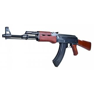 Softair - Kalashnikov AK 47 wood Federdruck - ab 14, unter 0,5 Joule