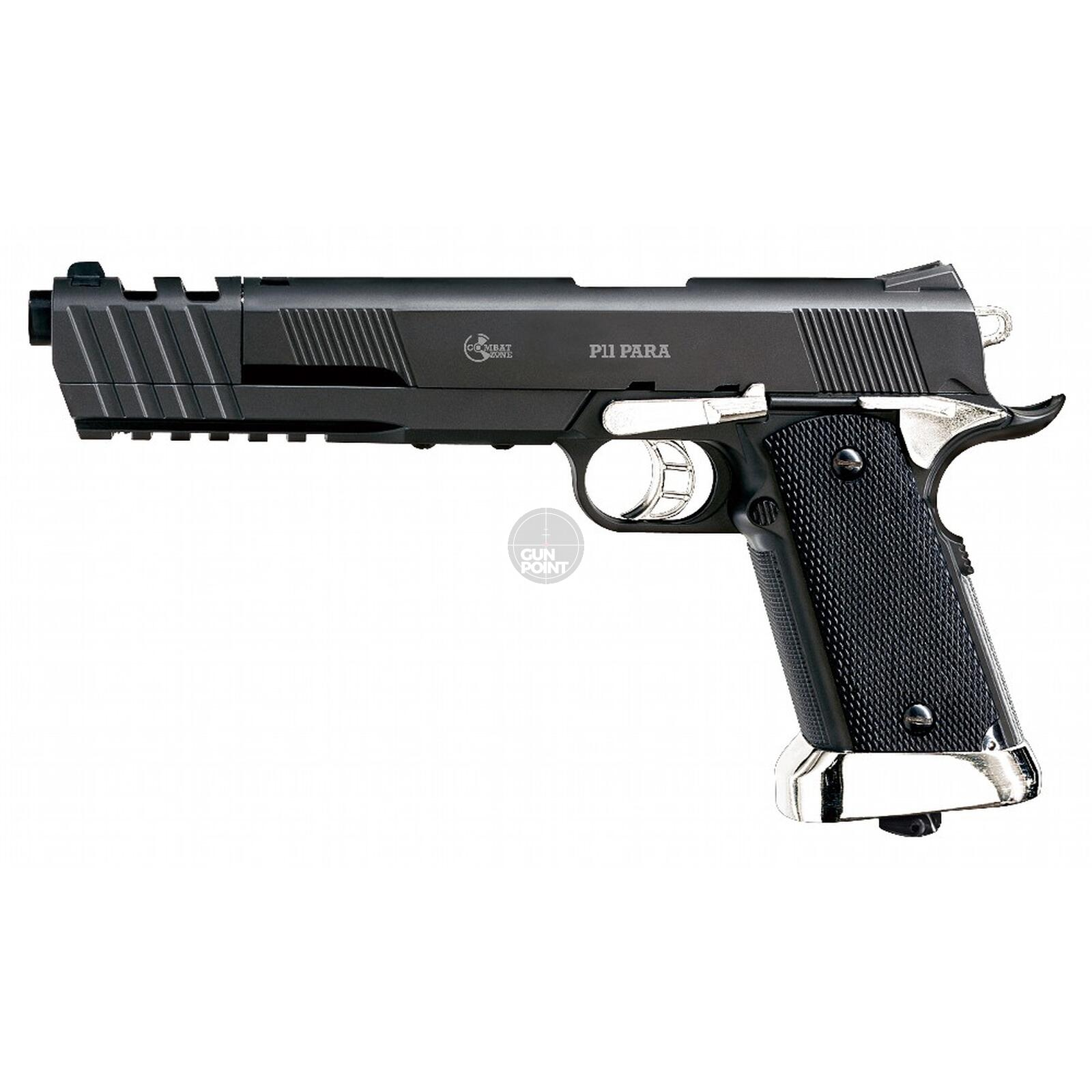 Softair - Pistole - COMBAT ZONE Model P11 Para CO2 NBB - ab 18, über 0,5 Joule