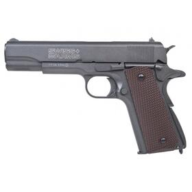 Luftpistole - Swiss Arms - P1911 Match - Co2-System BlowBack - Kal. 4,5 mm