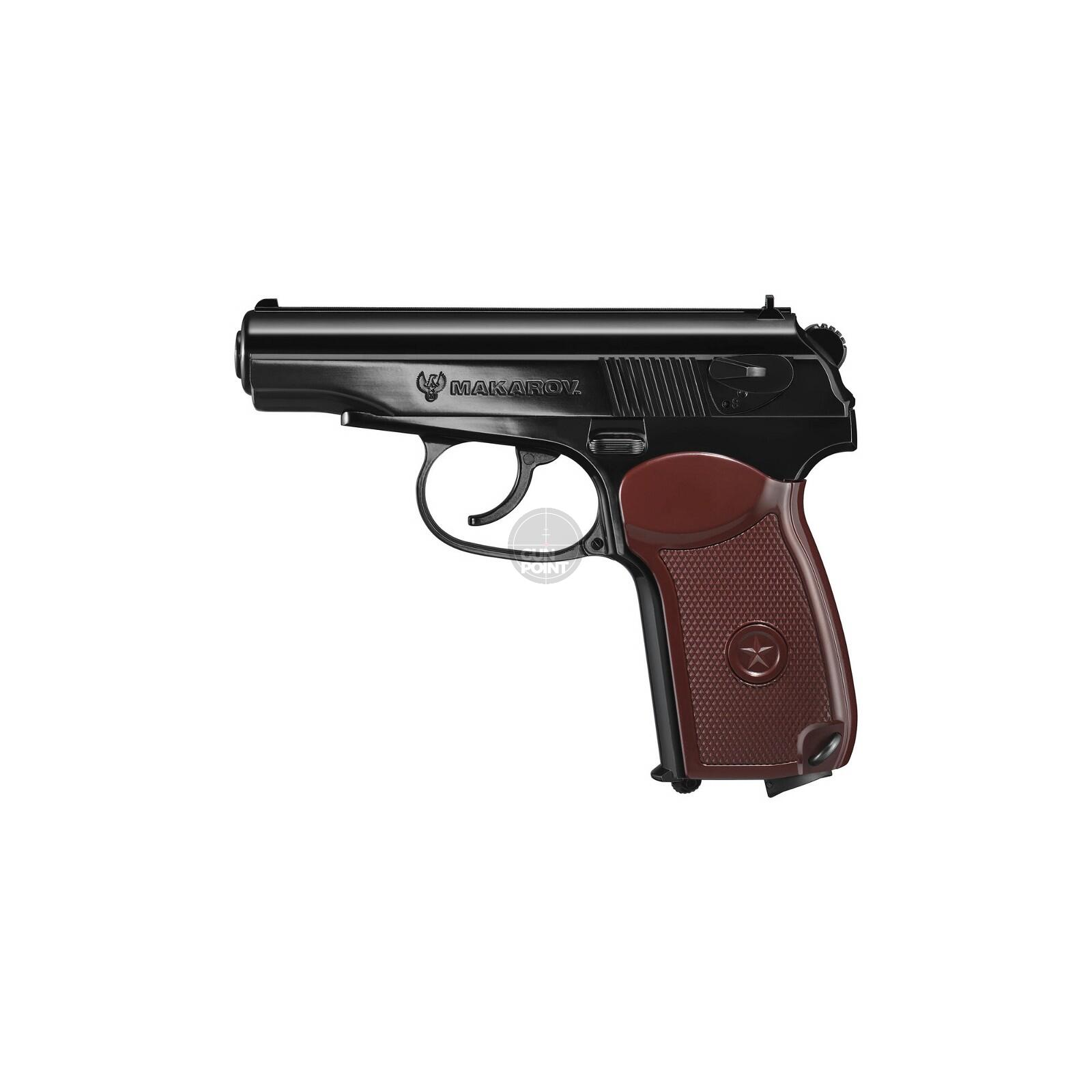 Luftpistole - Legends - Makarov BB - Co2-System  Kal. 4,5 mm