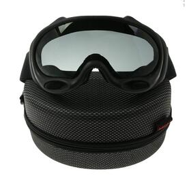 FMA Schutzbrille OK Ski Goggles Black And White Lenses BK