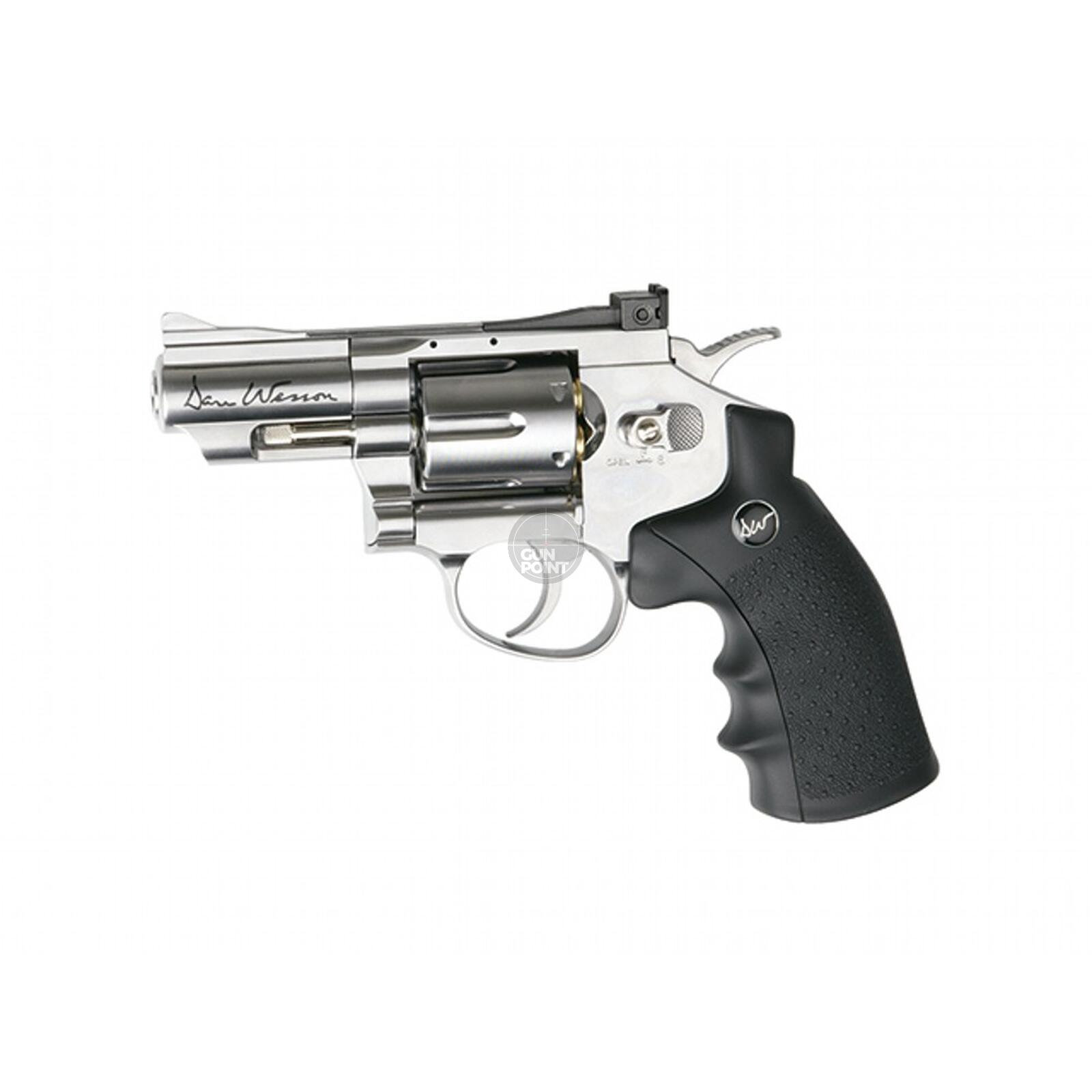 Luftpistole - Dan Wesson 2,5 Co2-System NBB Silber - Kal. 4,5 mm