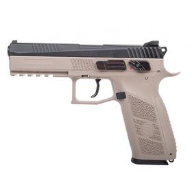 Luftpistole - CZ 75 P-09 Duty CO2 BlowBack FDE - Kal 4,5mm