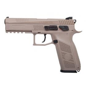 Luftpistole - CZ 75 P-09 Duty CO2 BlowBack Tan - Kal 4,5mm