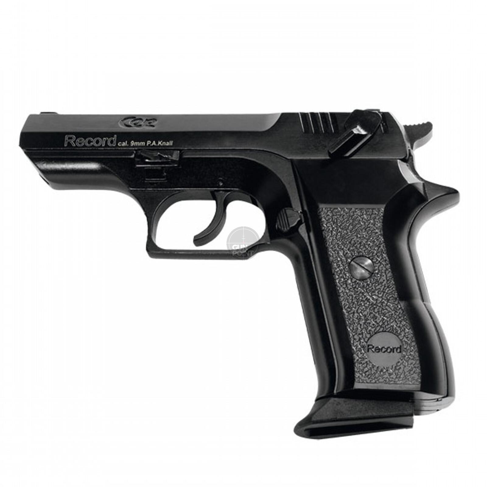Schreckschuss Gas Signal Pistole Record Modell Cop Br 9 Mm