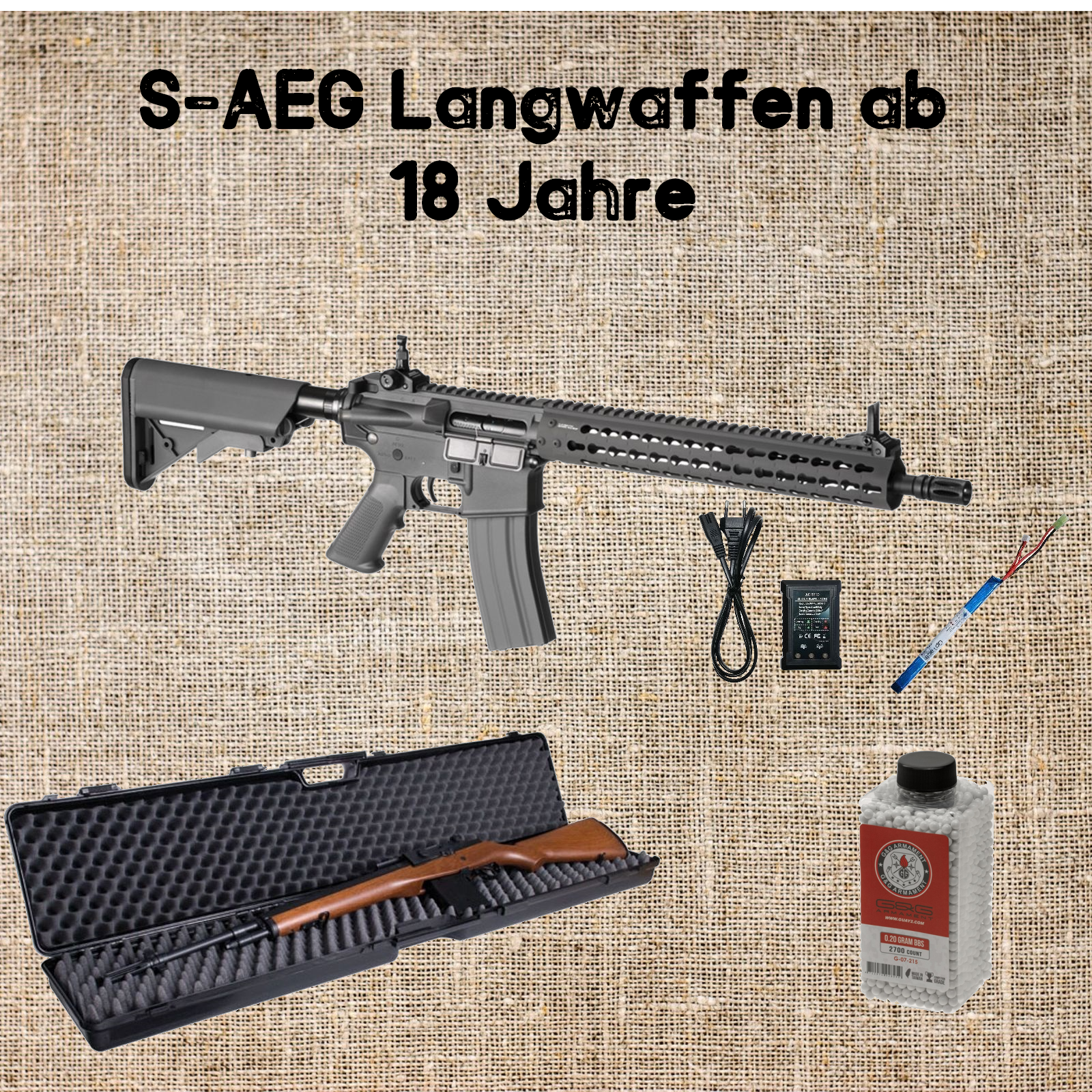 Sets S-AEGs Langwaffen ab 18
